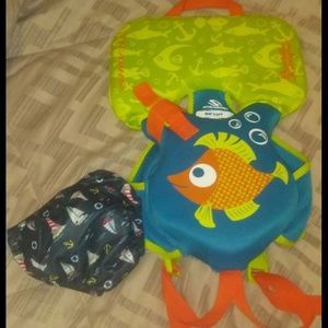 Other - Infant life jacket and swim diaper